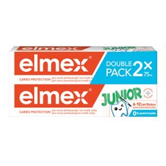 Zubní pasta elmex Junior duopack 2 × 75 ml