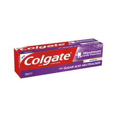 Zubní pasta Colgate Maximum Cavity Protection Whitening 75ml